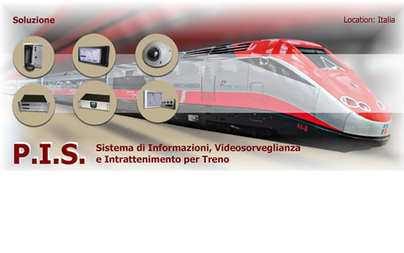 Fully integrated Infotainment Systems for Trains